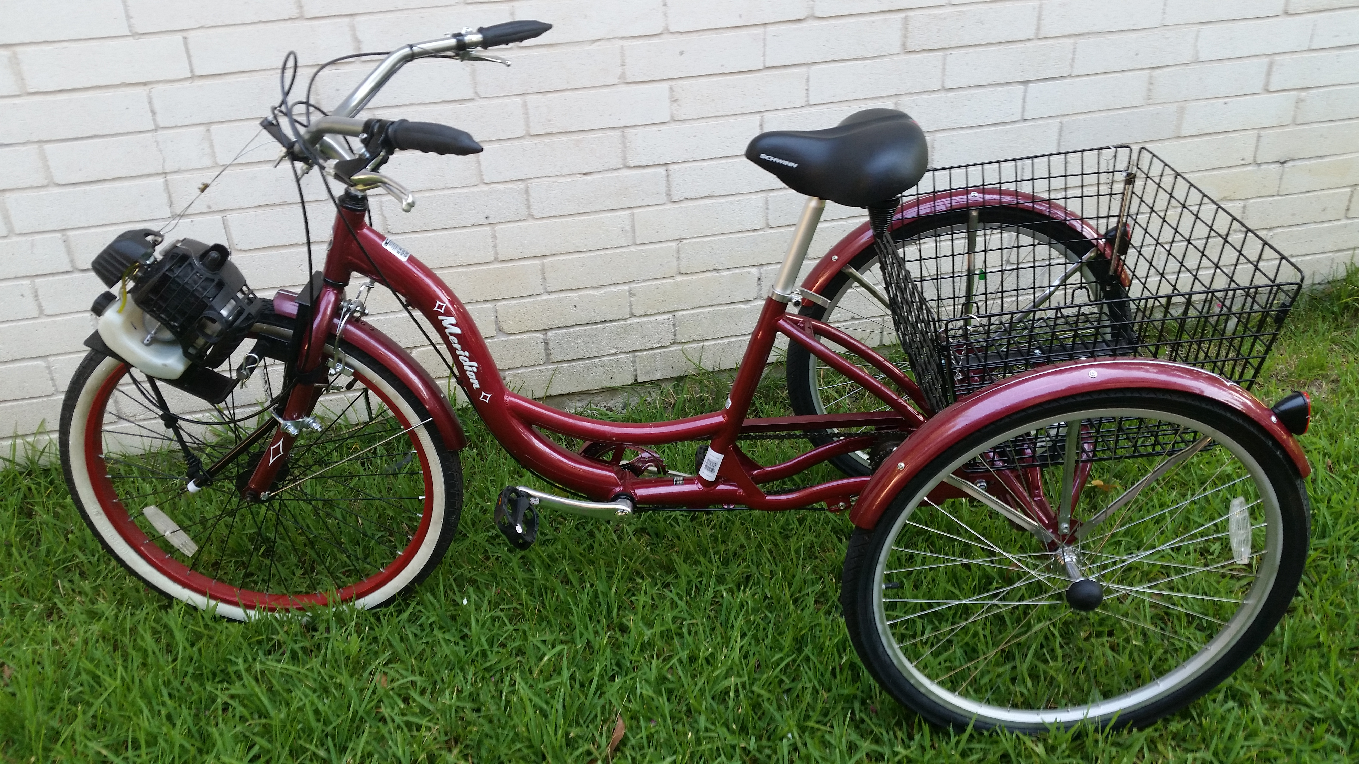 Adult bike three used wheeled